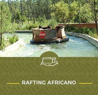 Rafting Africano no Badoca Safari Park